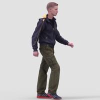 Nick CasualWalking - 3D Human Model