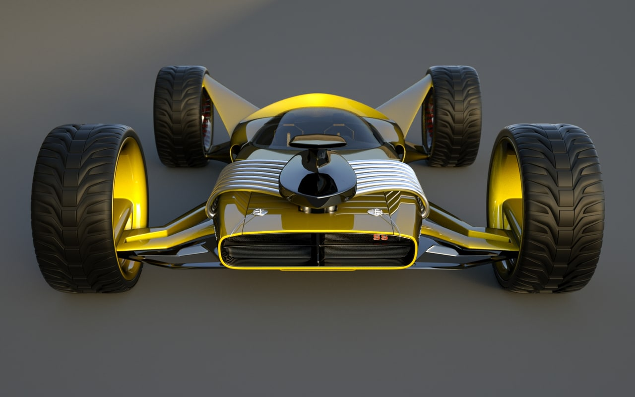 3d speed originally designed model