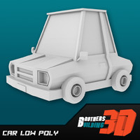 Car low poly 1