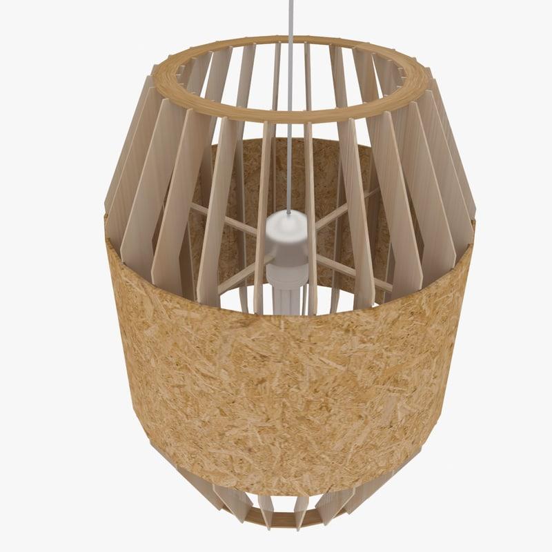 3dsmax plywood chandelier