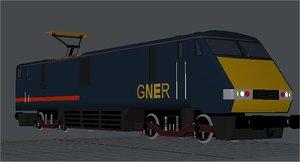 lwo train loco class 91