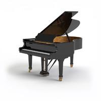 3d generic grand piano