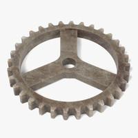 gear wheel 3d model