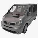 Renault Trafic 3D models