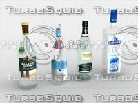 3dsmax russian vodka