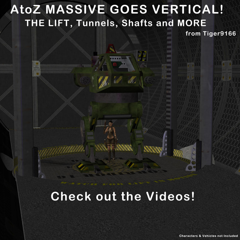atoz massive goes vertical 3d model