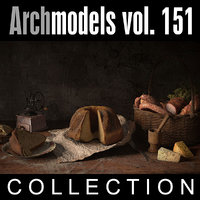 3d archmodels vol 151 model