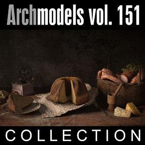 3d archmodels vol 151 model