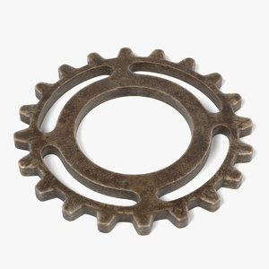 gear wheel 3d fbx