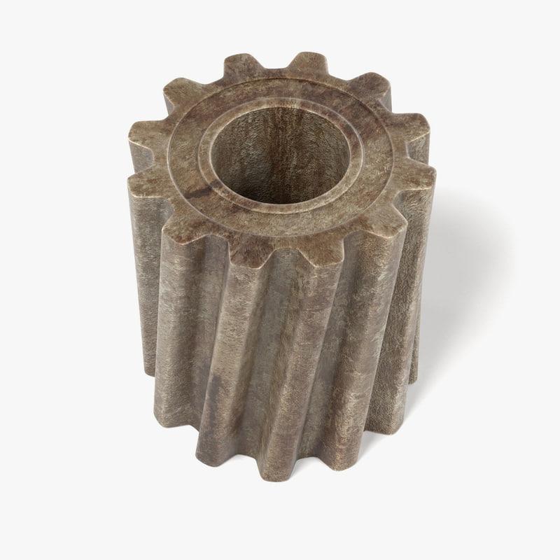 gear wheel 3ds