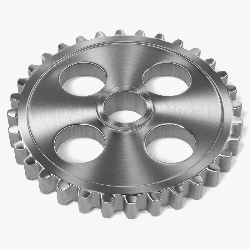 obj gear wheel