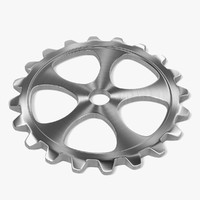 3ds max gear wheel
