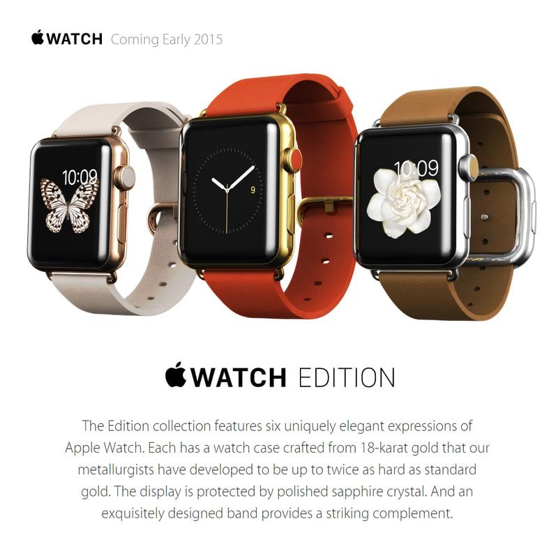 3dsmax apple watch edition