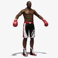 3ds max boxer