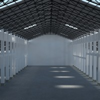warehouse scene 3d max