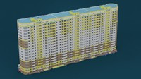 3ds max high-rise building house