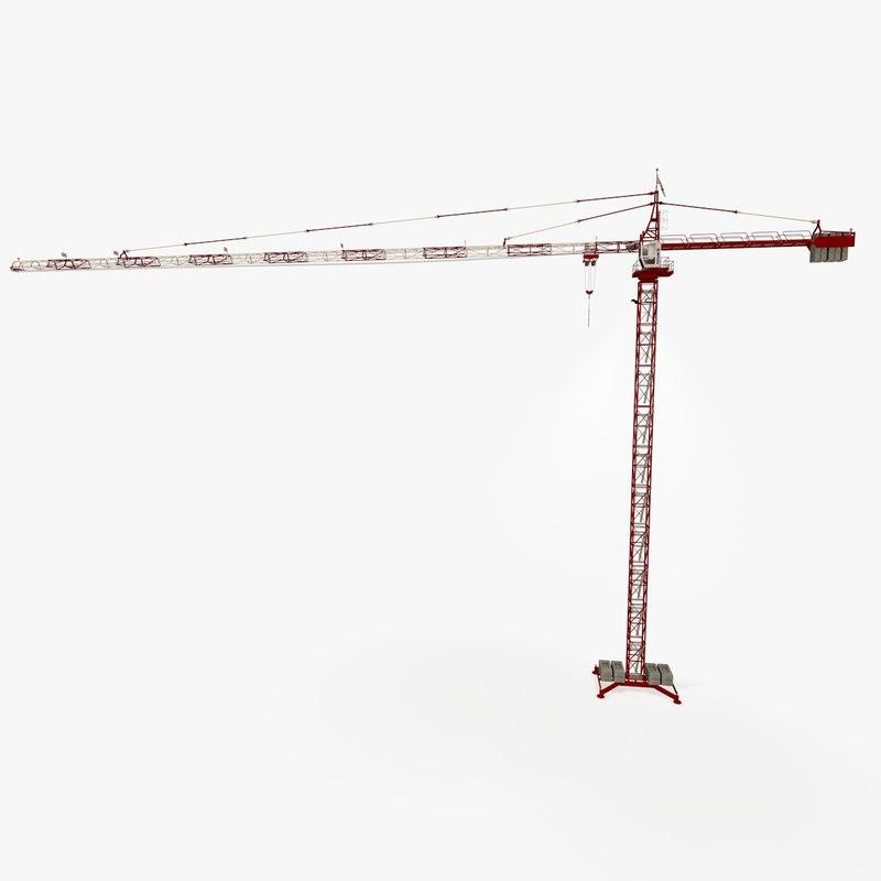 crane potain c4d