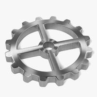 3ds gear wheel