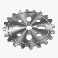 3d 3ds gear wheel