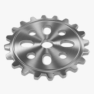 3d 3ds gear wheel