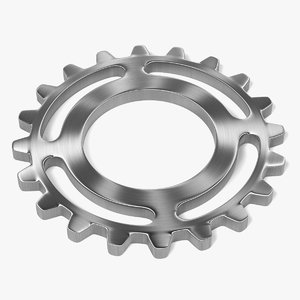 gear wheel 3d 3ds
