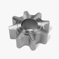 3d gear wheel model