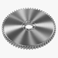 3d model of gear wheel