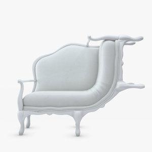 3d model lila jang canape