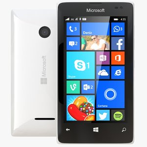 microsoft lumia 435 dual 3d model