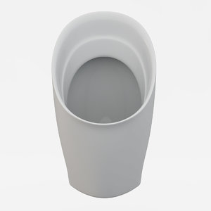 3d urinal jacob delafon patio model