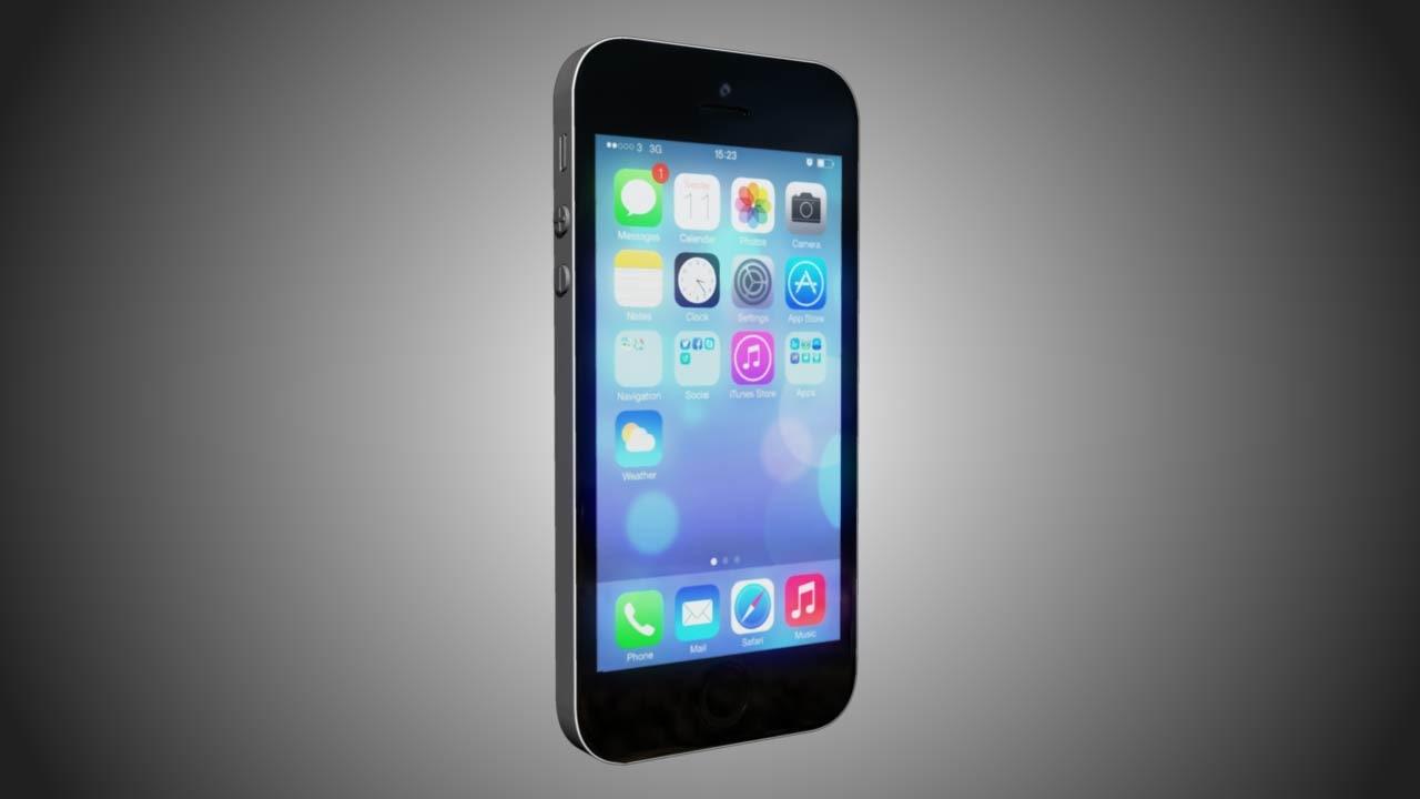 apple phone 5s 3d ma