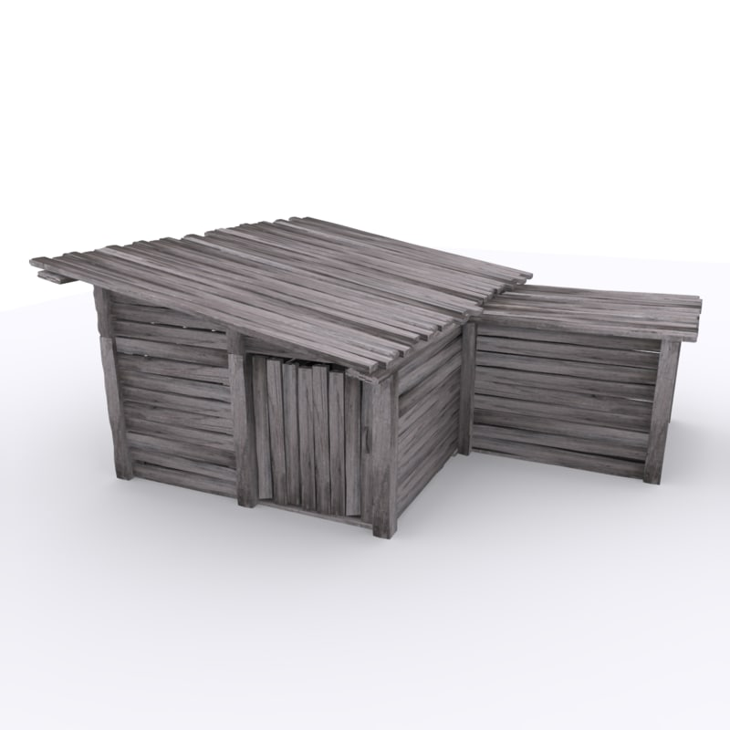 3ds max shackhouse 2