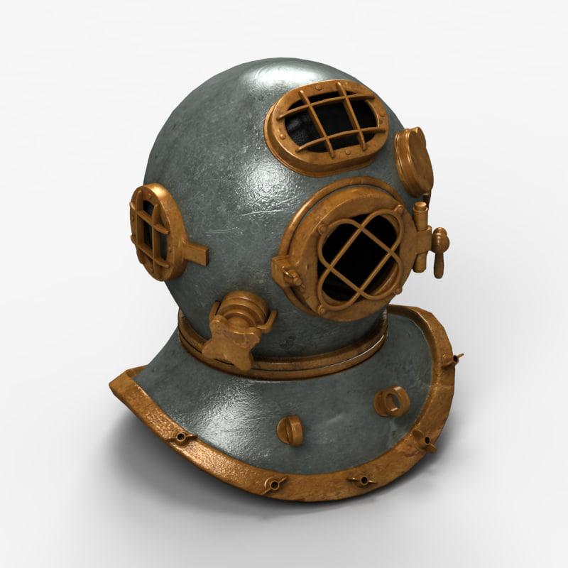 diver helmet max