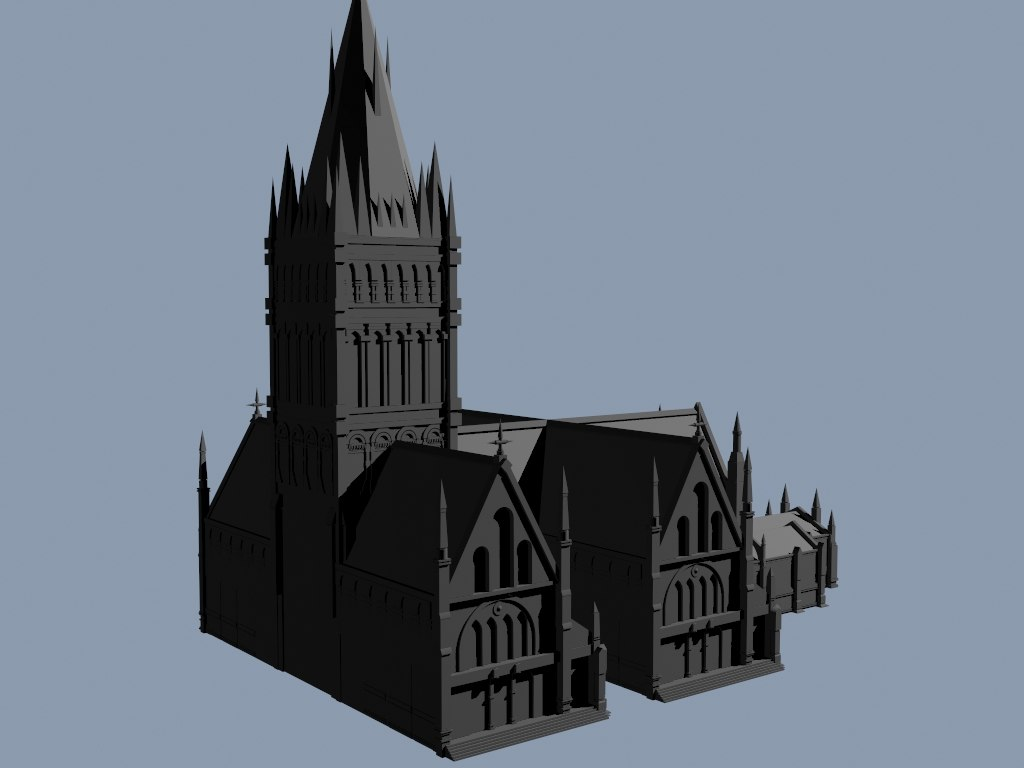 3d cathedral