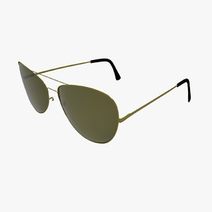 3d model sunglasses glass