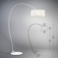 Contardi Divina Arco Lamp