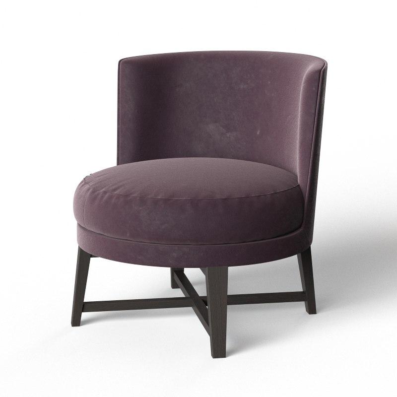 Flexform Feel Good Armchair 3d Max