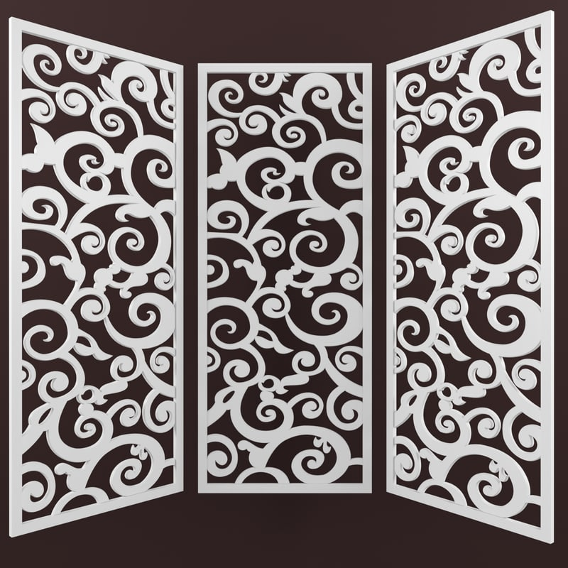 max decorative carved panel