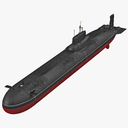 submarine 3D models