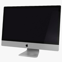 Apple iMac 21.5 3D models