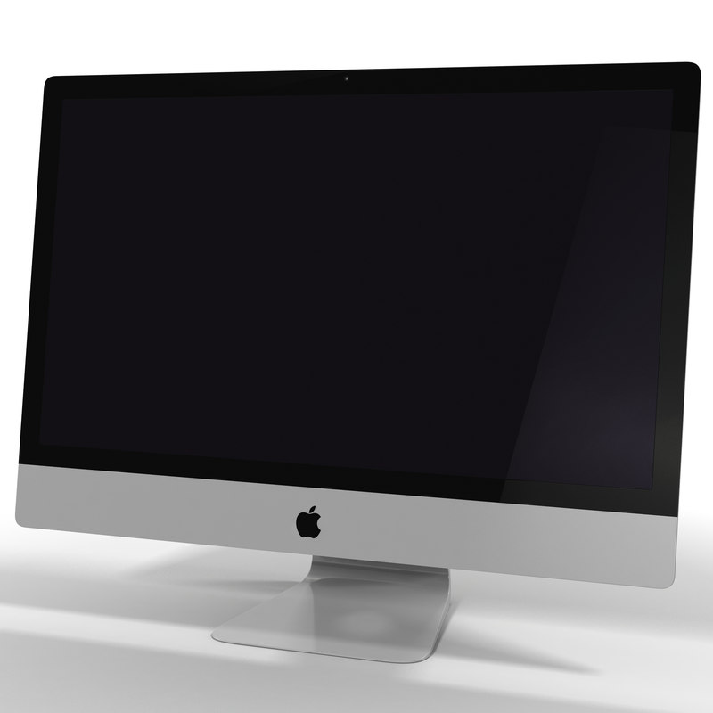 apple imac 27 inch 3d 3ds
