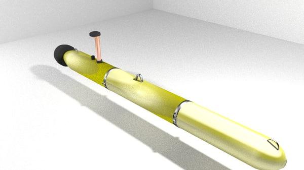 3d robotic underwater metaldetector