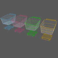 3ds max shopping cart