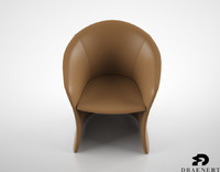 3d draenert calla chair model