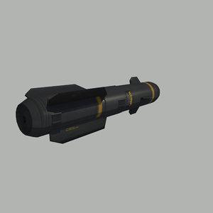 3d agm-114 model