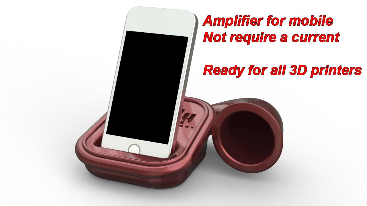 obj wireless amplifier mobile phone