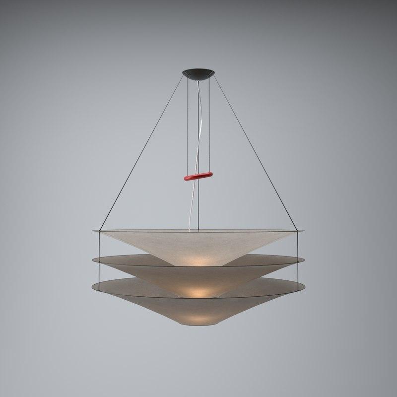 modern hanging lamp lights 3d obj