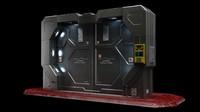 sci fi gate door max