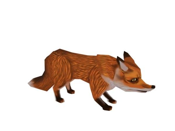 max cartoon fox