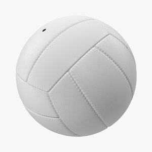 volleyball ball modeled 3d model